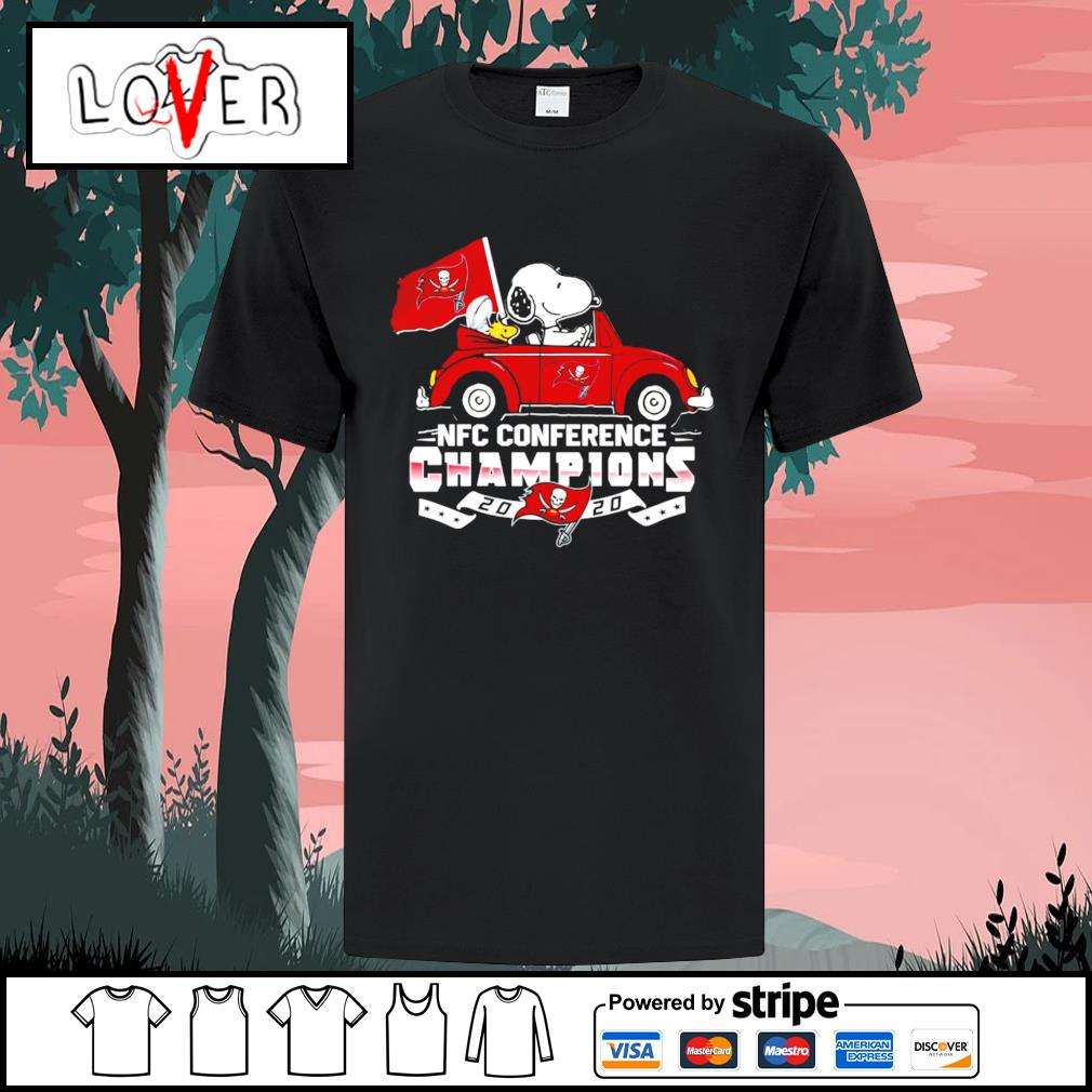 AFC conference champions 2020 Tampa Bay Snoopy shirt