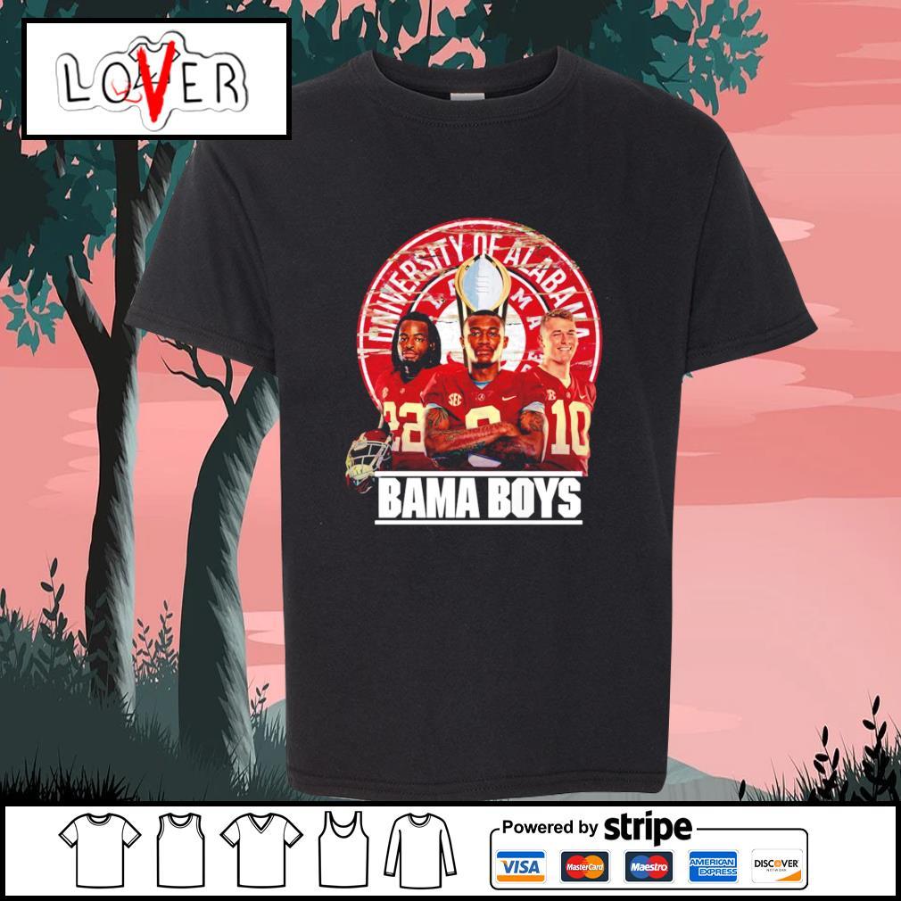 Alabama Crimson Tide University of Alabama Bama boys s Kid-T-shirt