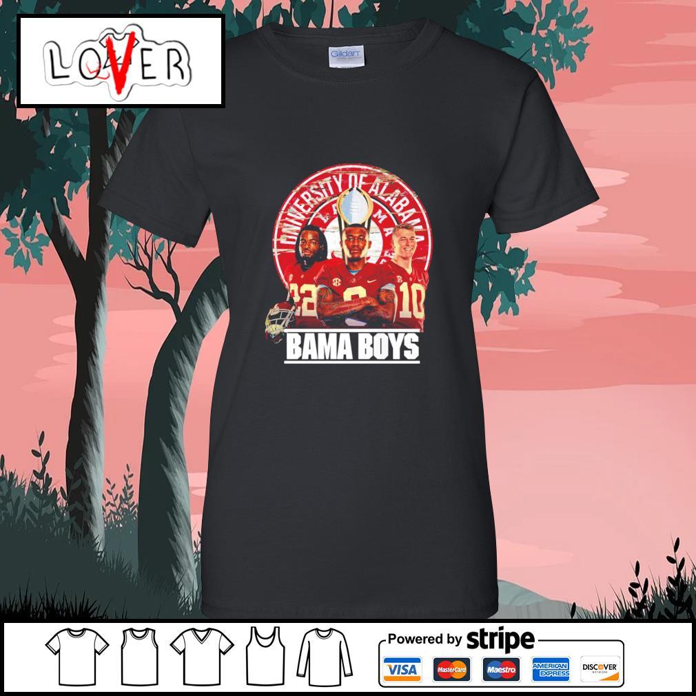 Alabama Crimson Tide University of Alabama Bama boys s Ladies-Tee