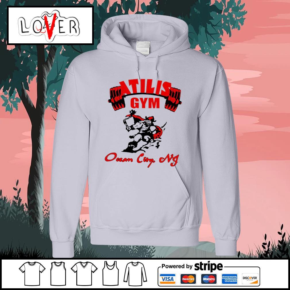 Atilis gym ocean city NJ s Hoodie