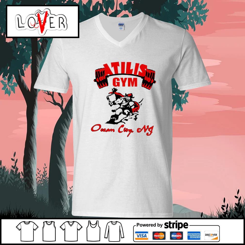 Atilis gym ocean city NJ s V-neck-T-shirt