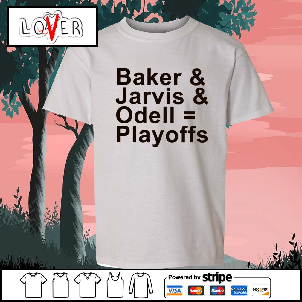 Baker and Jarvis and Odell Playoffs s Kid-T-shirt