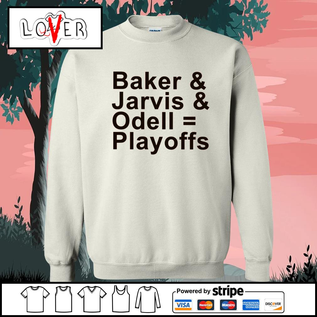 Baker and Jarvis and Odell Playoffs s Sweater