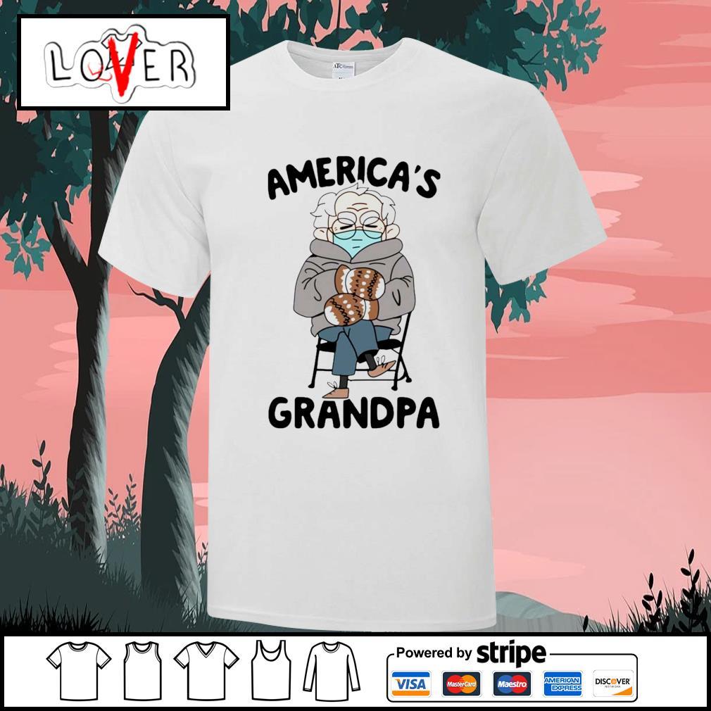 Bernie Sanders America's grandpa shirt