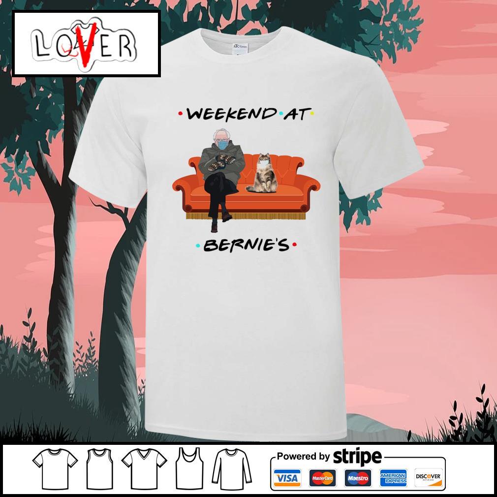 Bernie Sanders and Persian cat weekend at Bernie's shirt