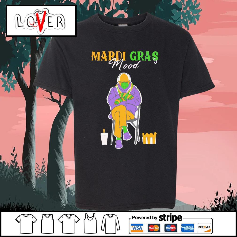 Bernie Sanders Mardi Gras Mood s Kid-T-shirt