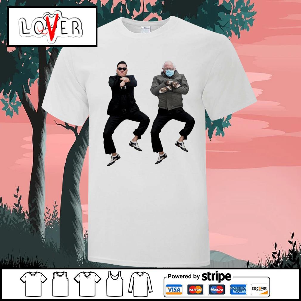 Bernie Sanders with Gangnam Style shirt
