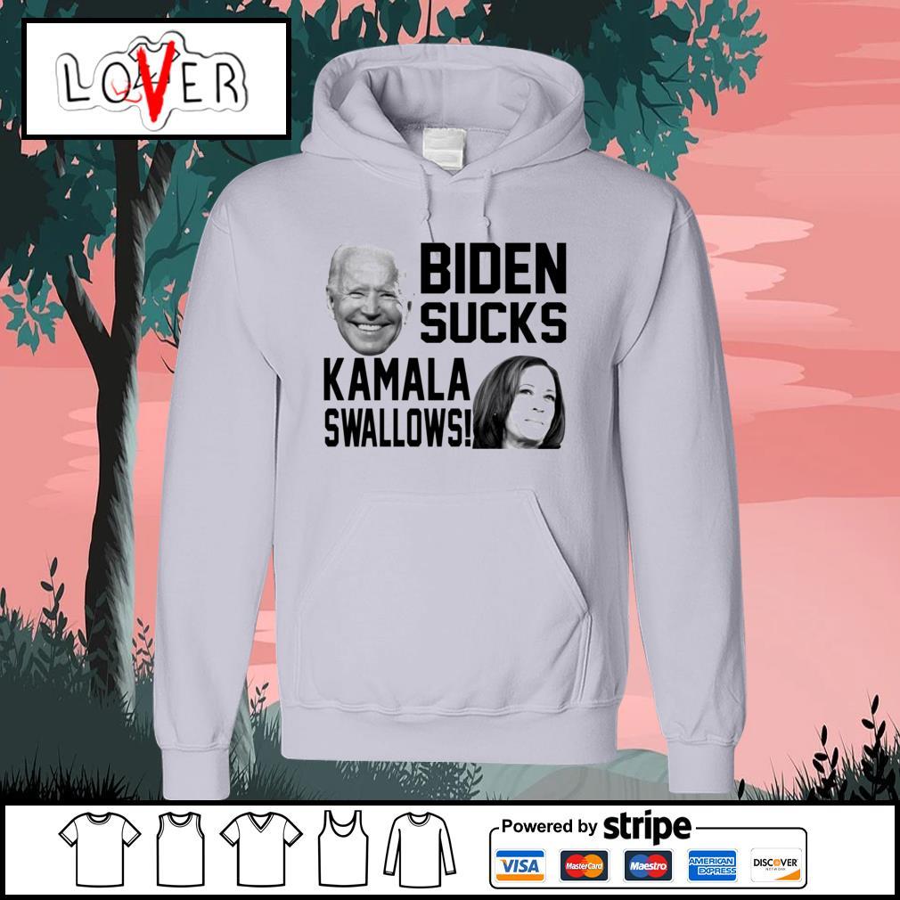 Biden sucks Kamala swallows s Hoodie
