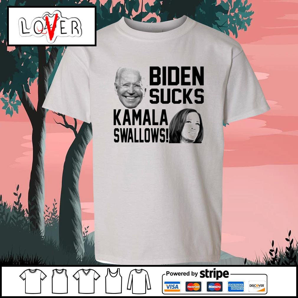 Biden sucks Kamala swallows s Kid-T-shirt