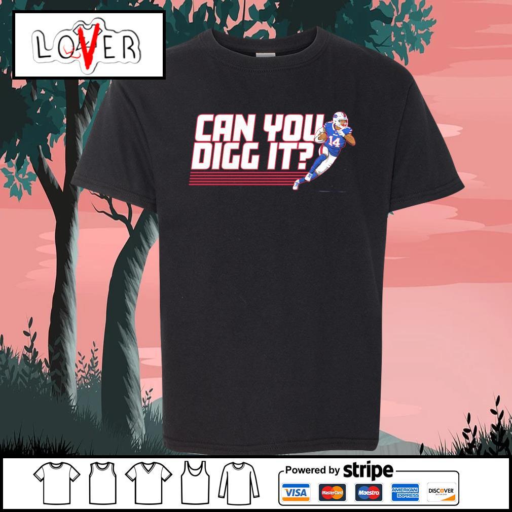Buffalo Bills Stefon Diggs can you digg it s Kid-T-shirt