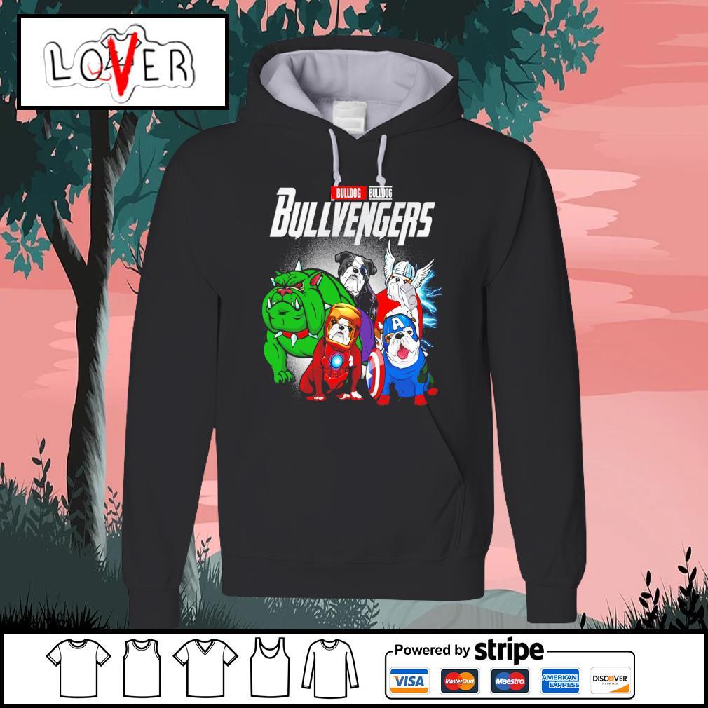 Bulldog Bullvengers Avengers s Hoodie