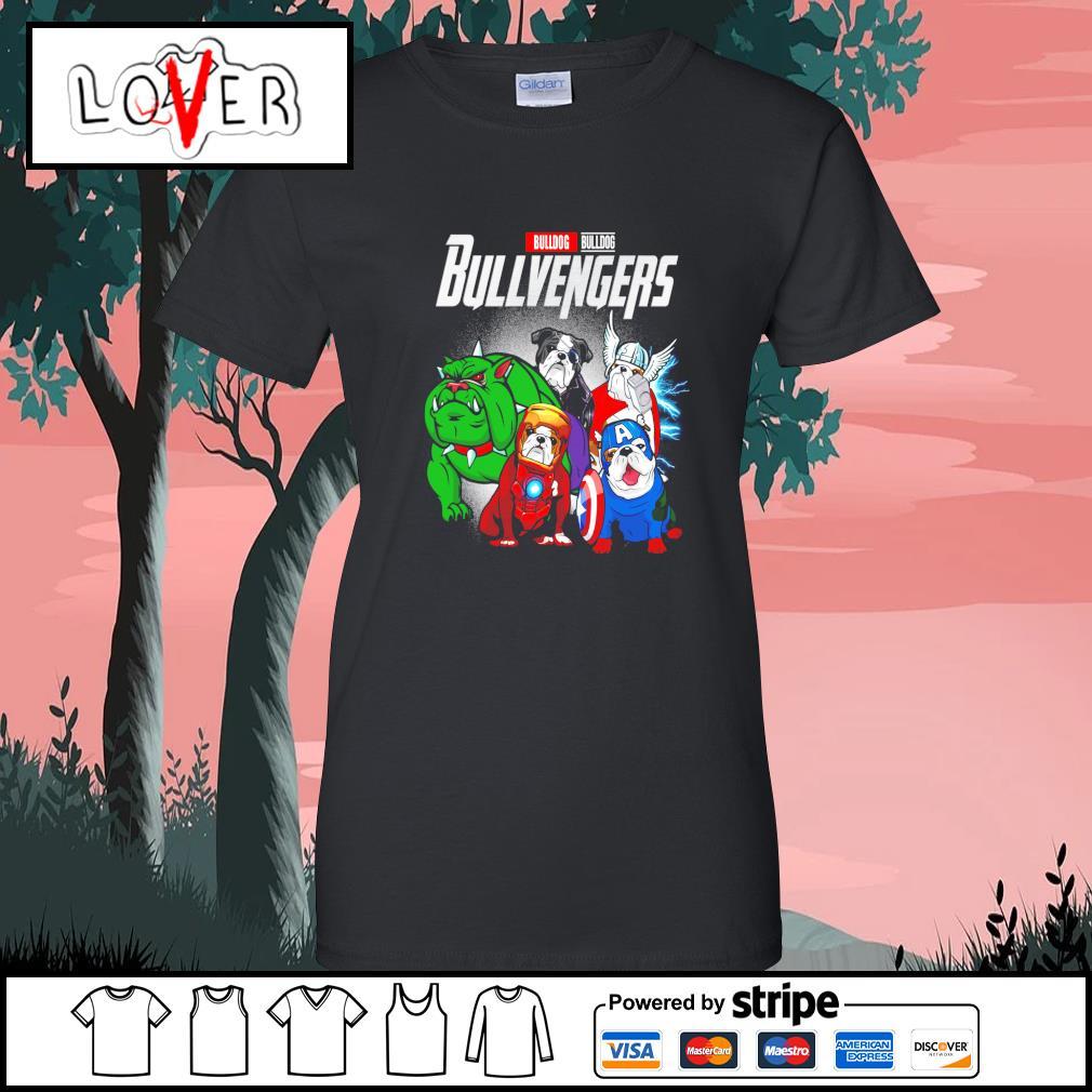 Bulldog Bullvengers Avengers s Ladies-Tee