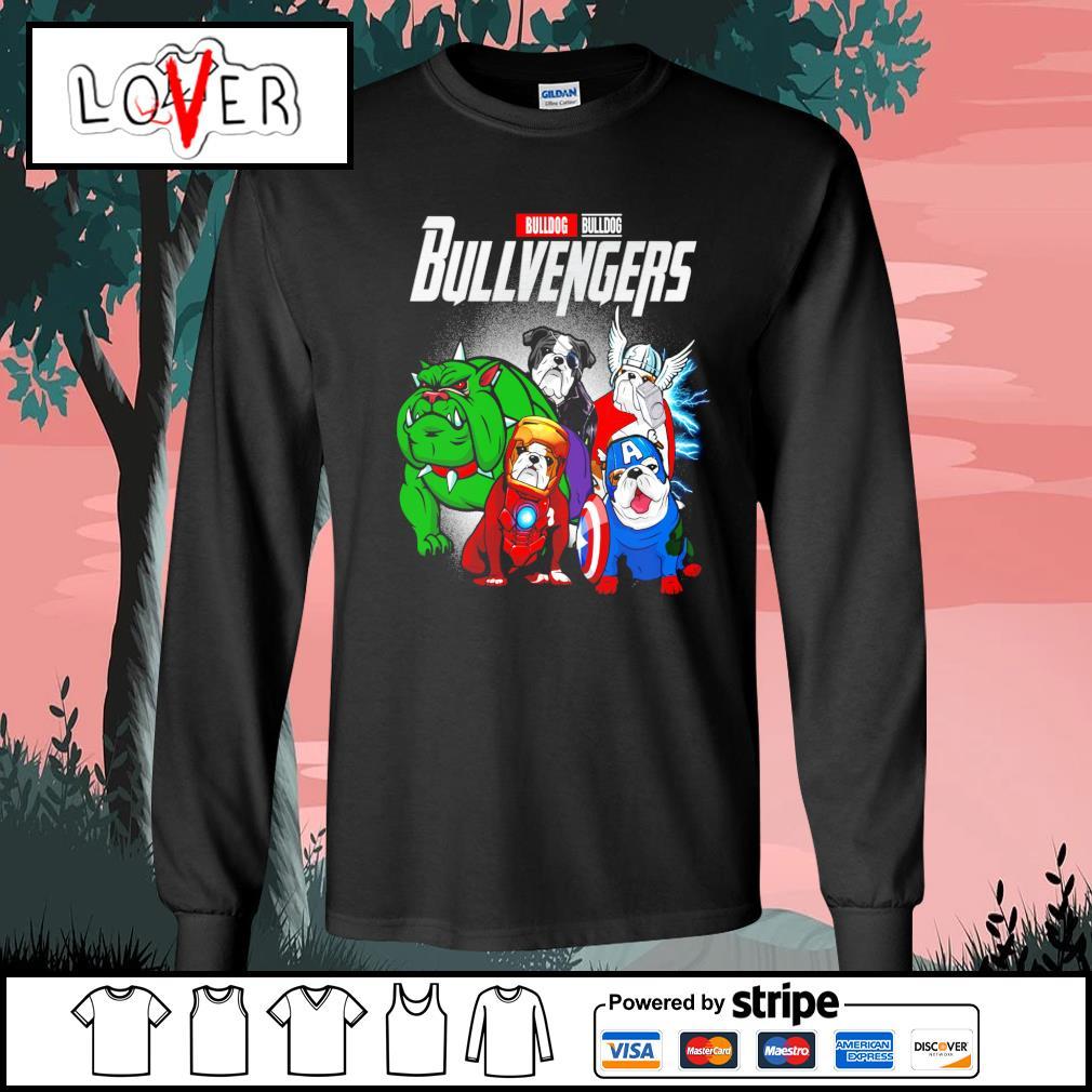 Bulldog Bullvengers Avengers s Long-Sleeves-Tee