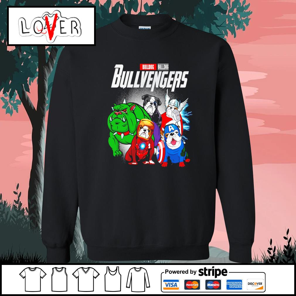 Bulldog Bullvengers Avengers s Sweater
