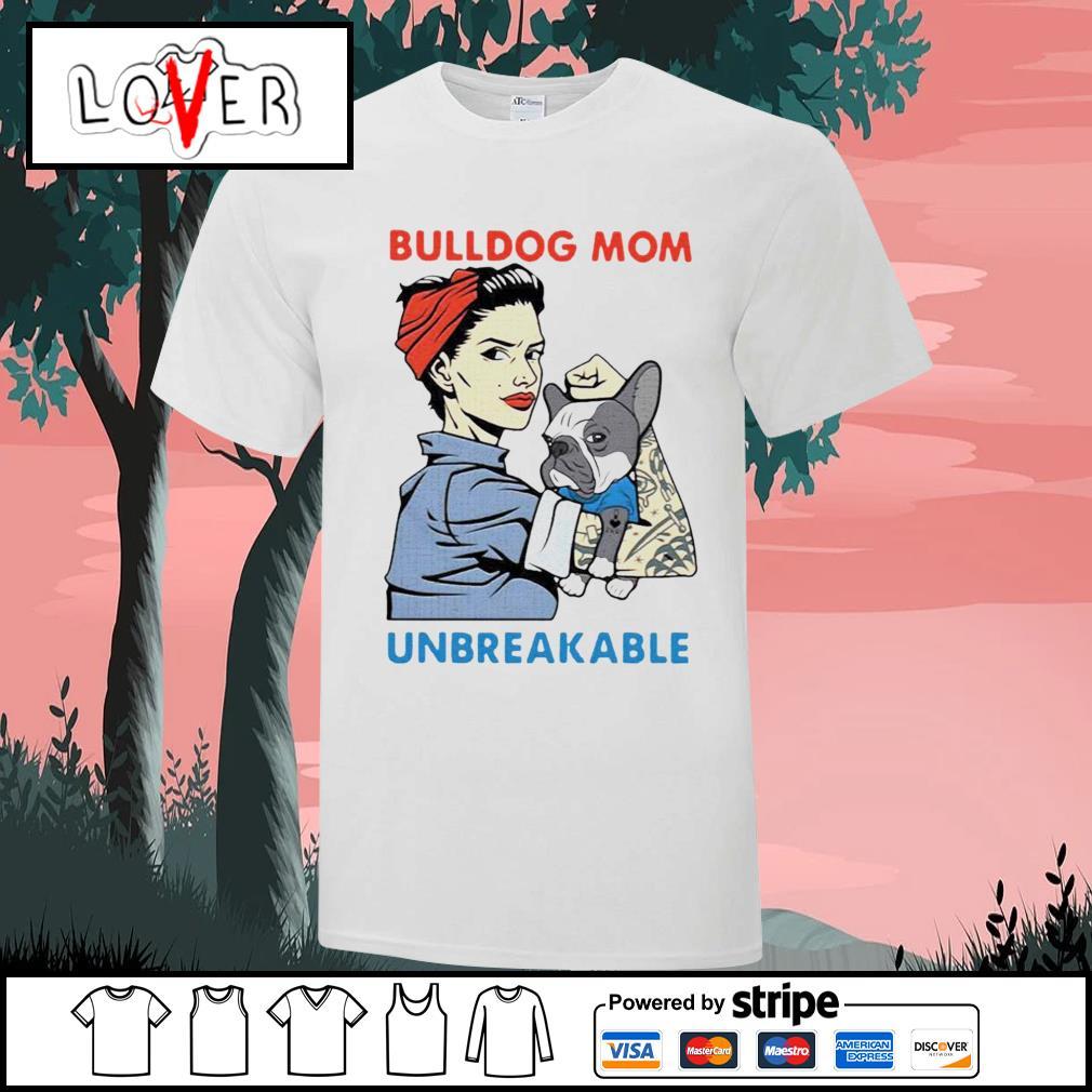 Bulldog unbreakable tattoo women shirt