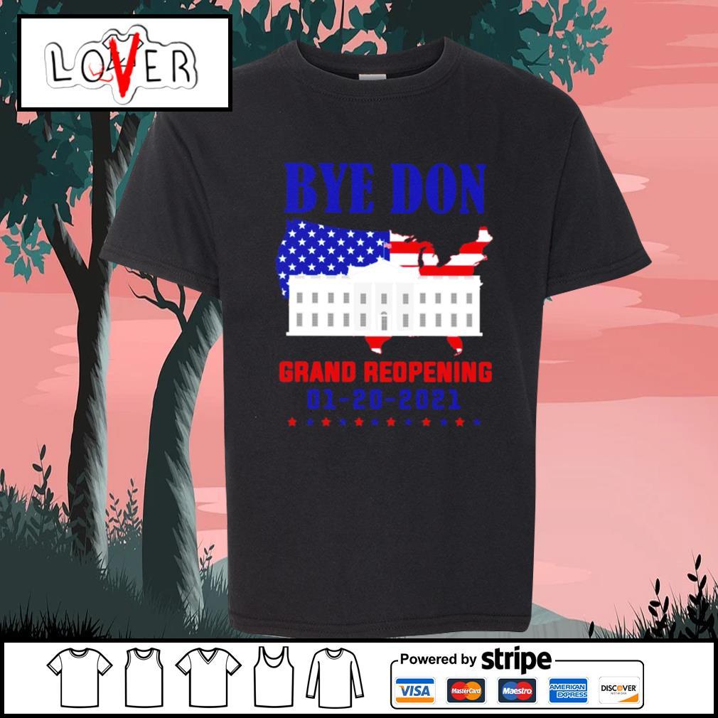 Byedon grand reopening 1 20 2021 s Kid-T-shirt
