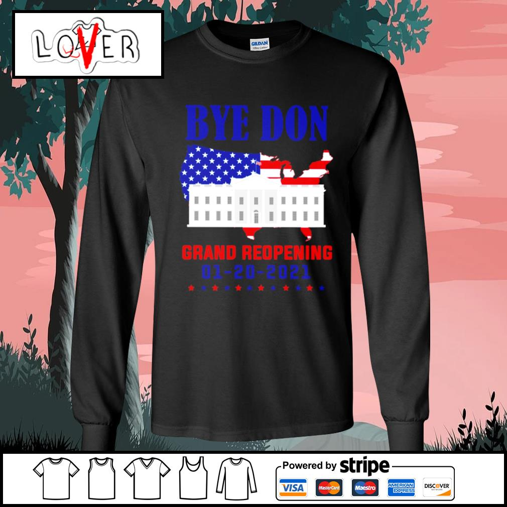 Byedon grand reopening 1 20 2021 s Long-Sleeves-Tee