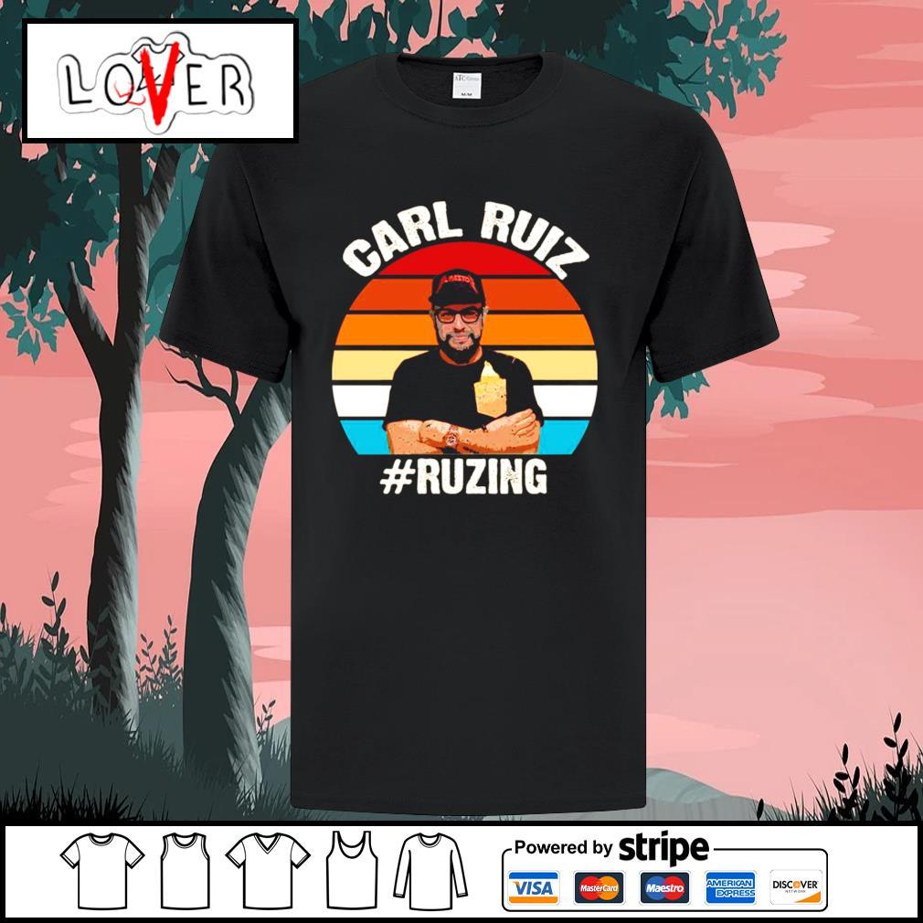 Carl ruiz ruzing vintage shirt