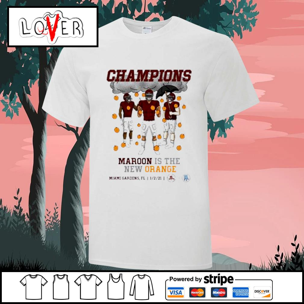 Champions Maroon is the new Orange Miami Gardens 2021 shirt