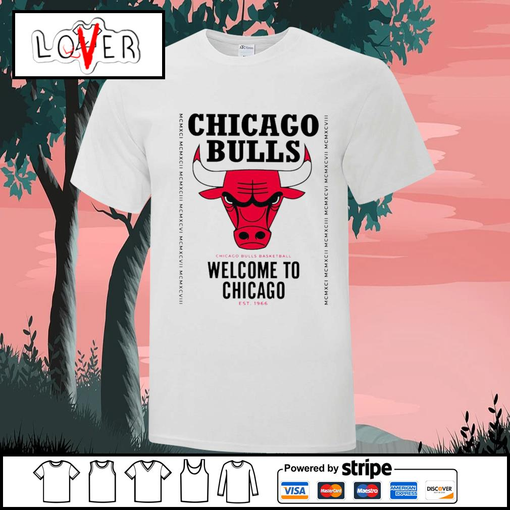 Chicago Bulls Welcome to Chicago shirt