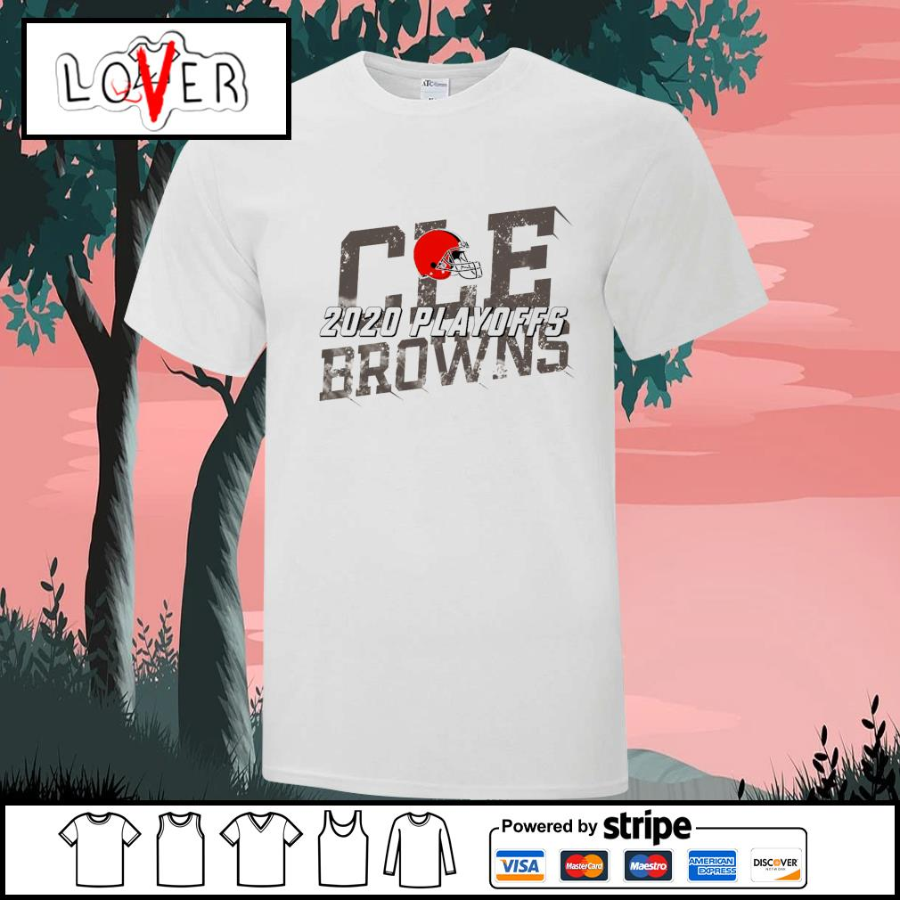 Cleveland Browns 2020 playoffs shirt