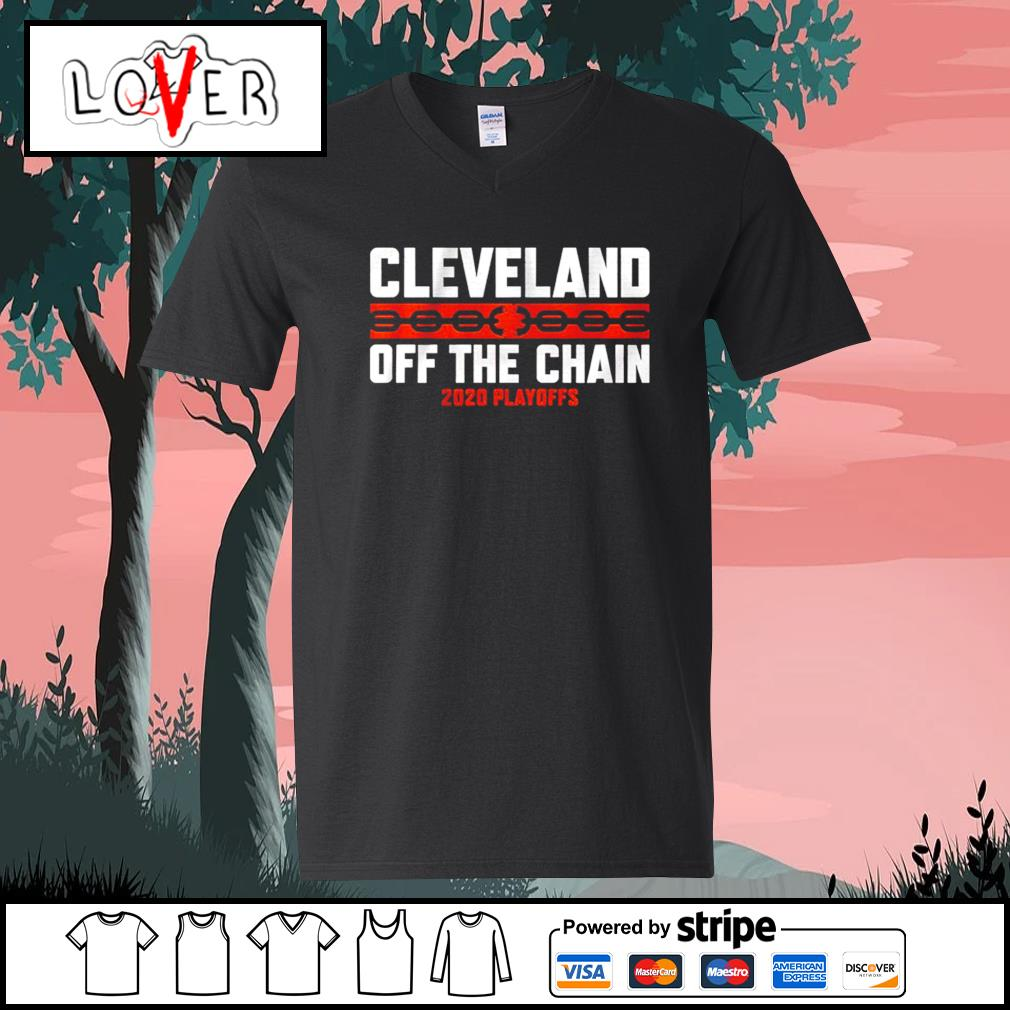 Cleveland off the chain 2020 playoffs s V-neck-T-shirt