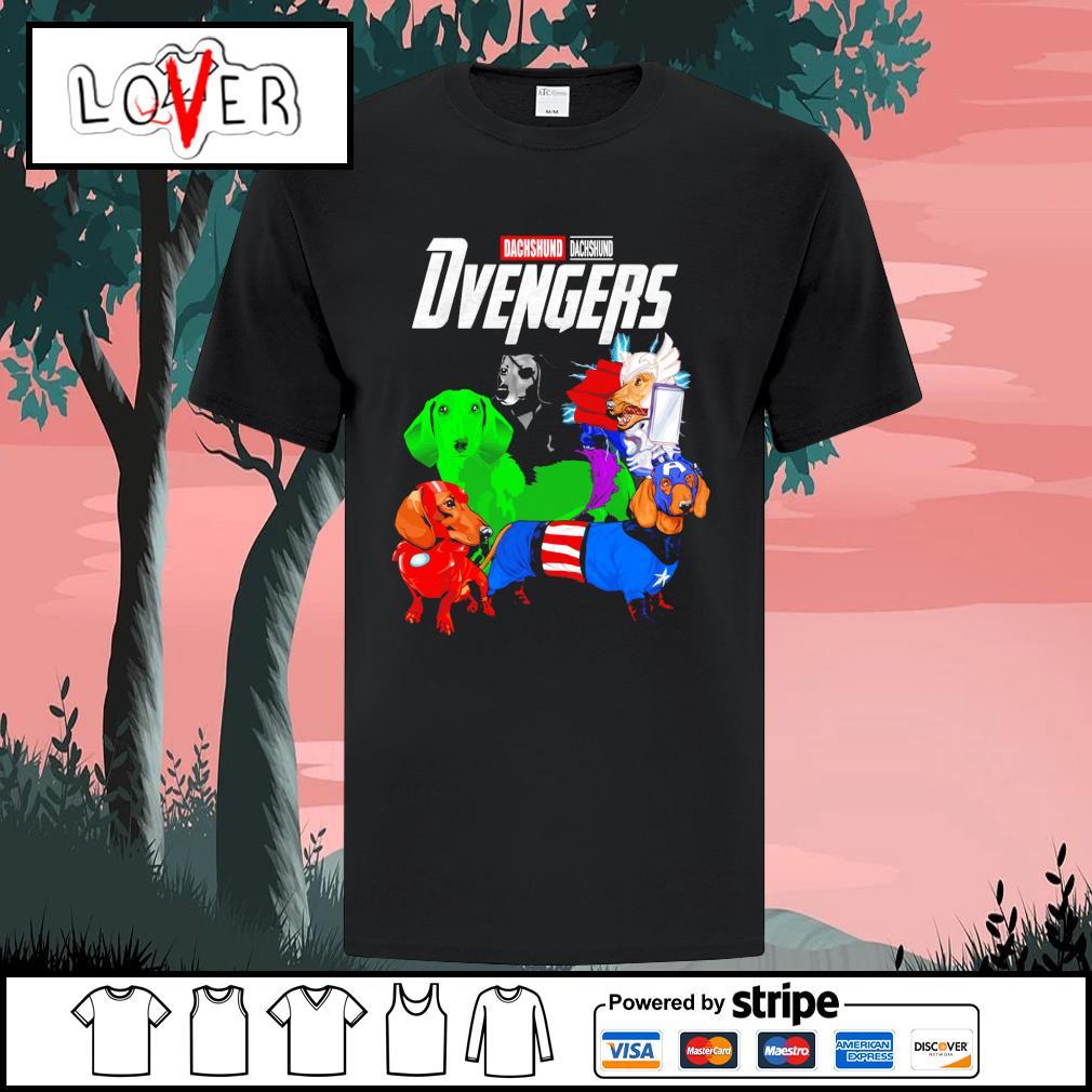 Dachshund Dvengers Avengers shirt