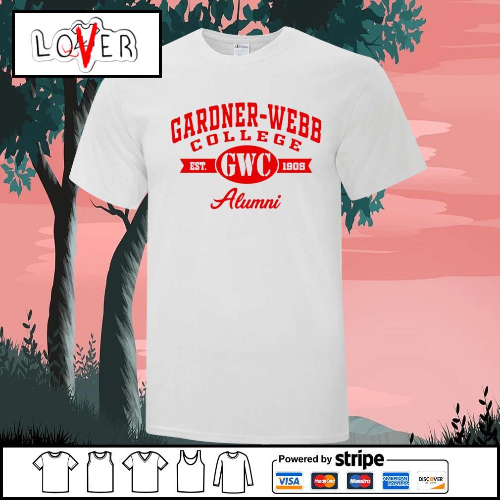 Gardner Webb College est GWC 1905 Alumni shirt