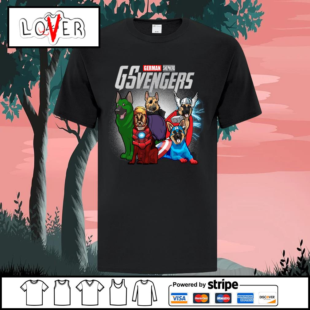 German Shepherd GSvengers Avengers shirt