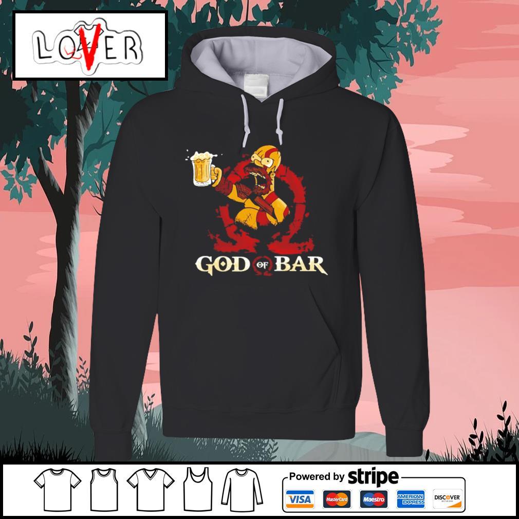 Homer Simpson god of war s Hoodie