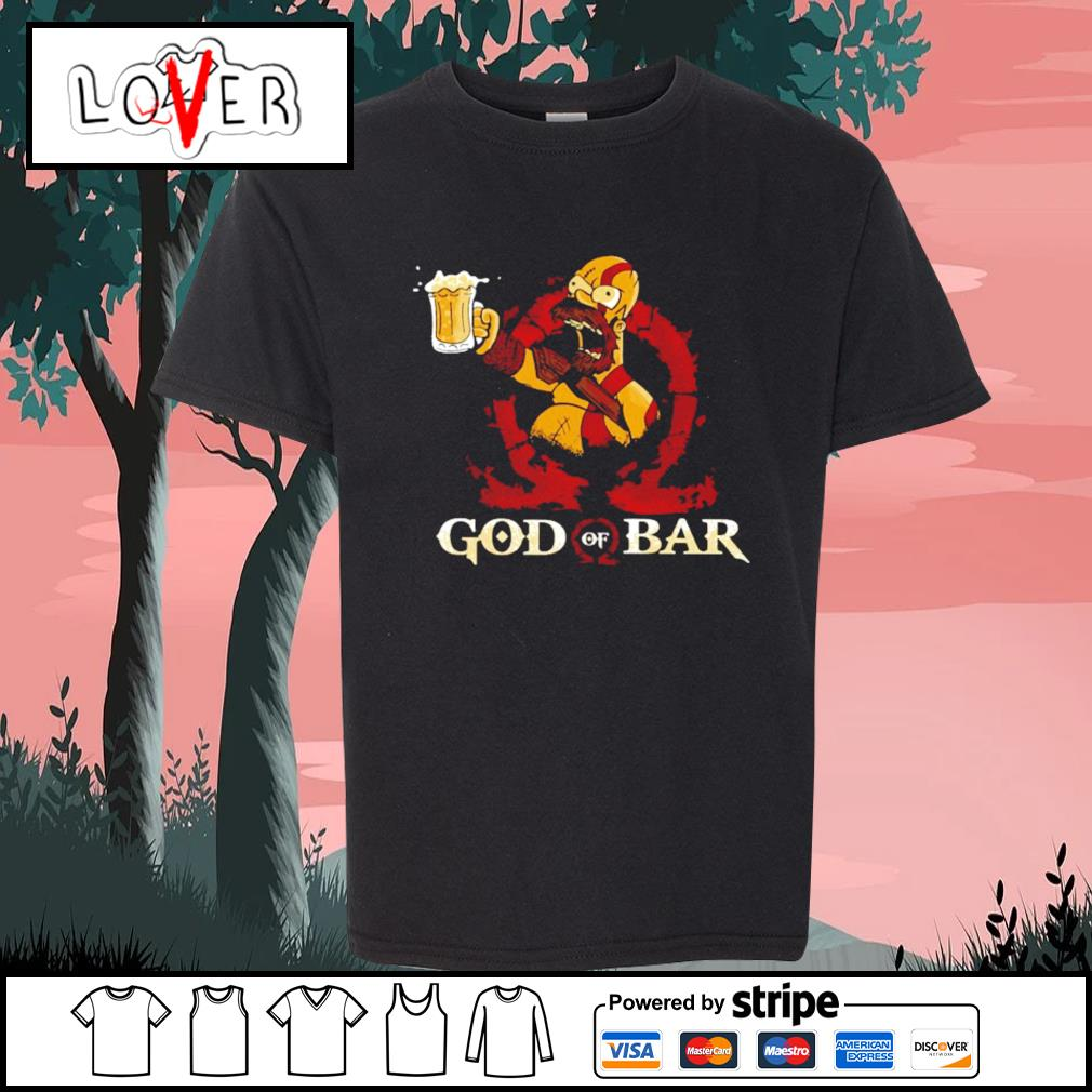 Homer Simpson god of war s Kid-T-shirt