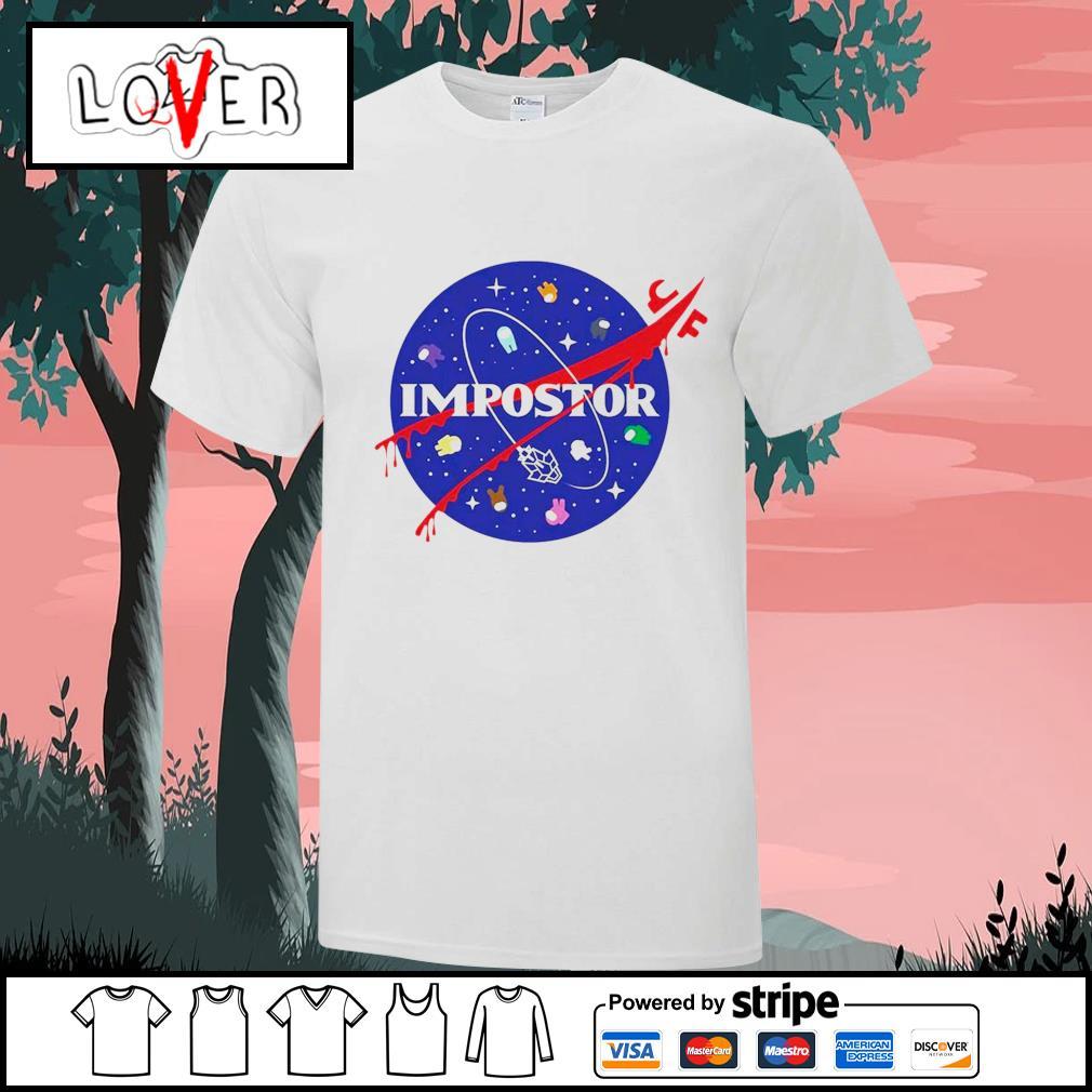 Impostor Among Us Nasa shirt
