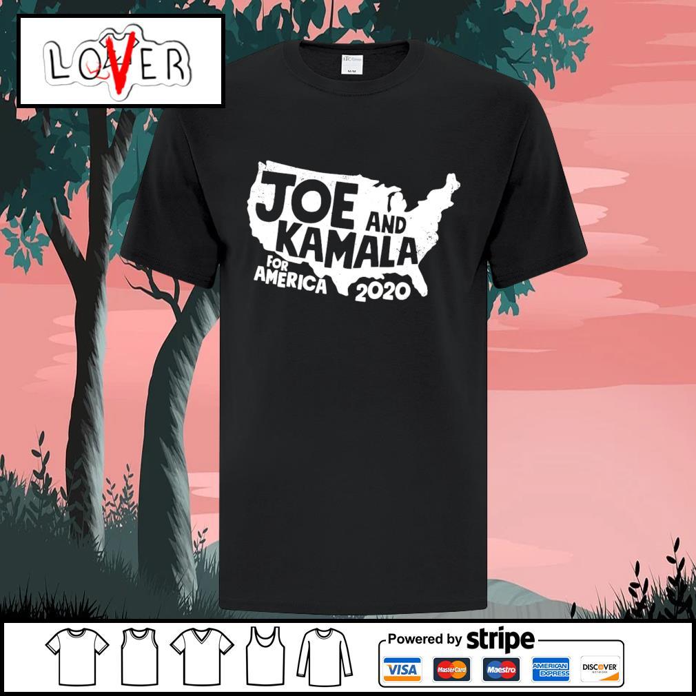 Joe and Kamala for America 2020 shirt