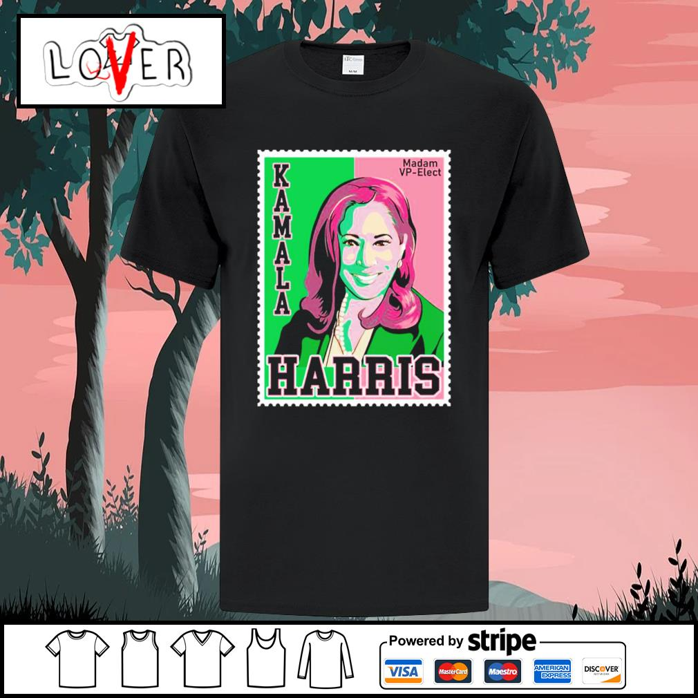 Kamala Harris Stamp madam Vp Elect shirt