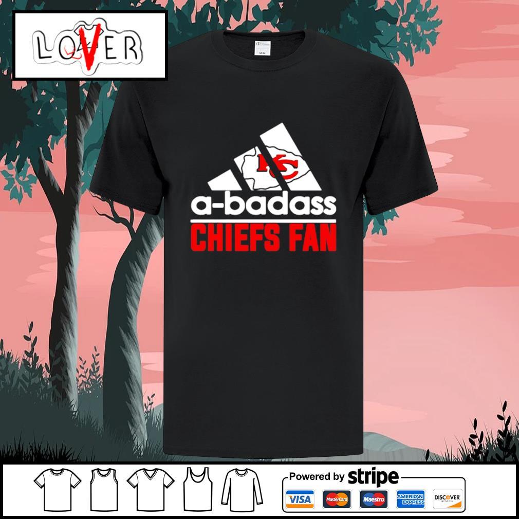 Kansas City Chiefs A-badass Chiefs fan Adidas shirt