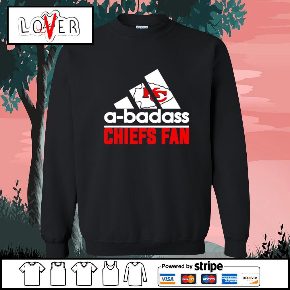 Kansas City Chiefs A-badass Chiefs fan Adidas s Sweater