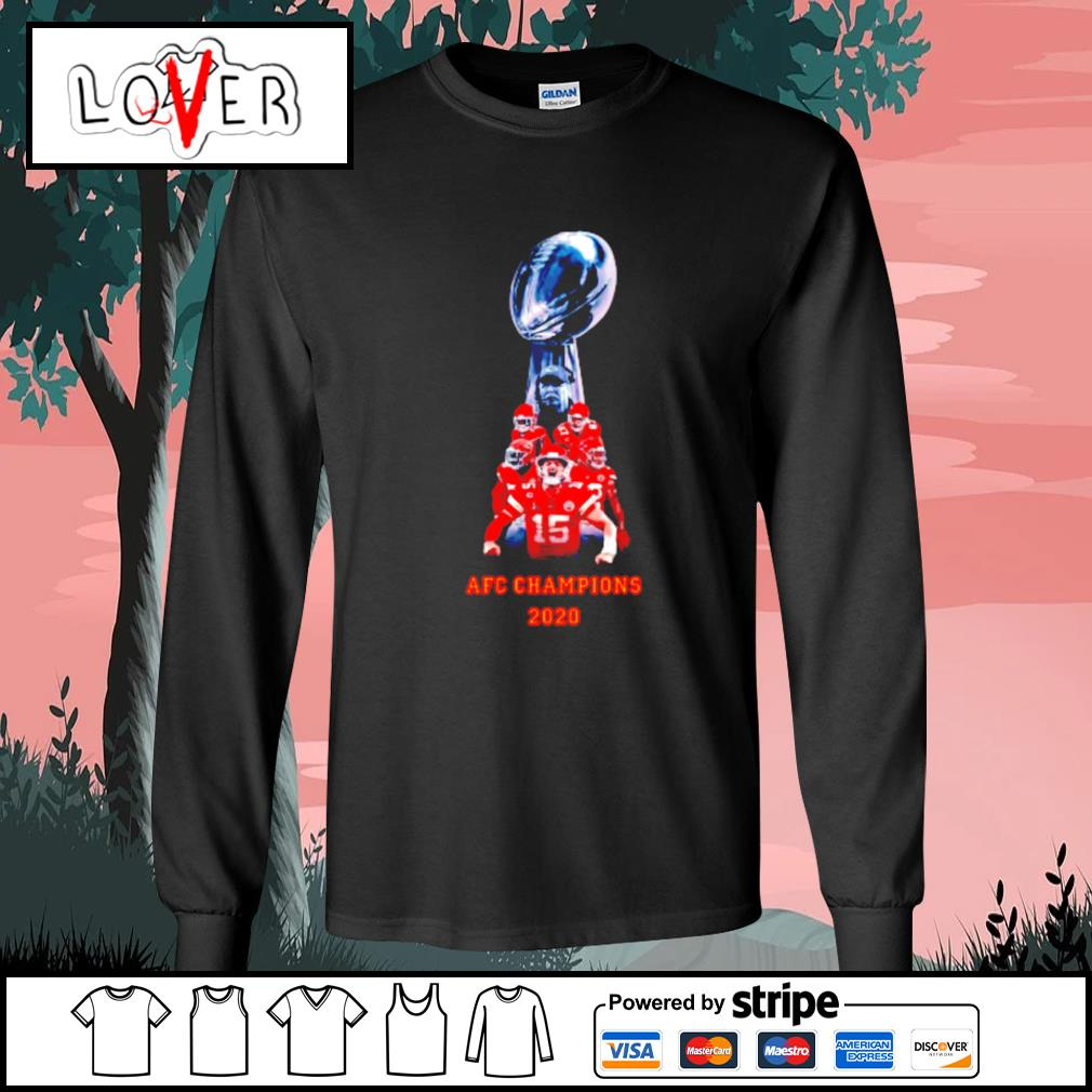 Kansas City Chiefs AFC champions 2020 s Long-Sleeves-Tee