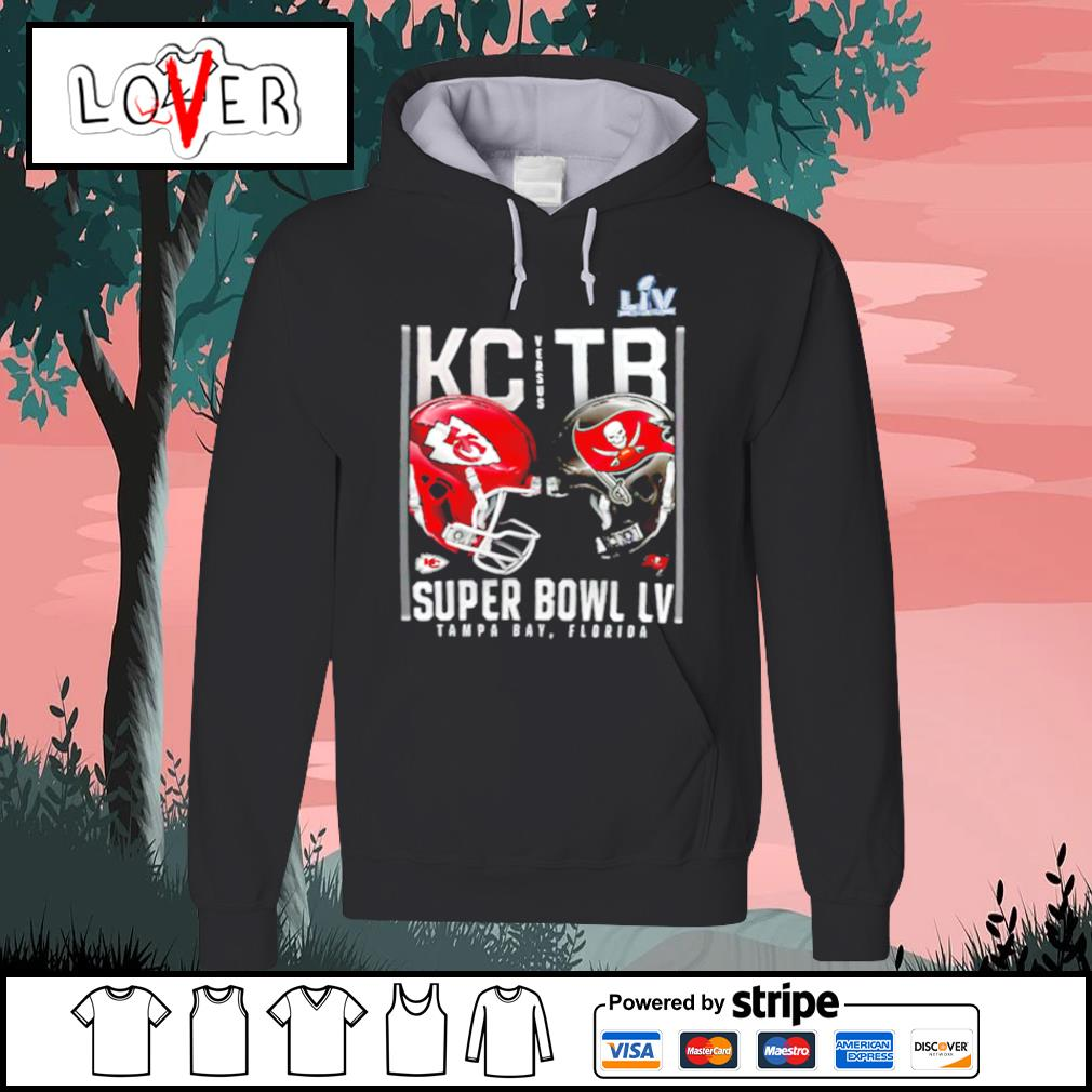 Kansas City Chiefs and Tampa Bay Buccaneers Super Bowl LV s Hoodie