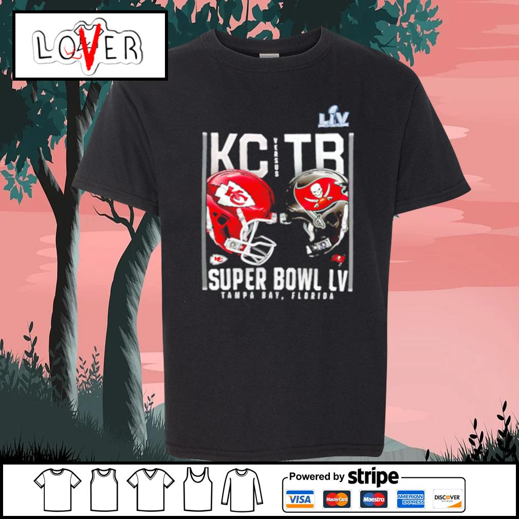Kansas City Chiefs and Tampa Bay Buccaneers Super Bowl LV s Kid-T-shirt