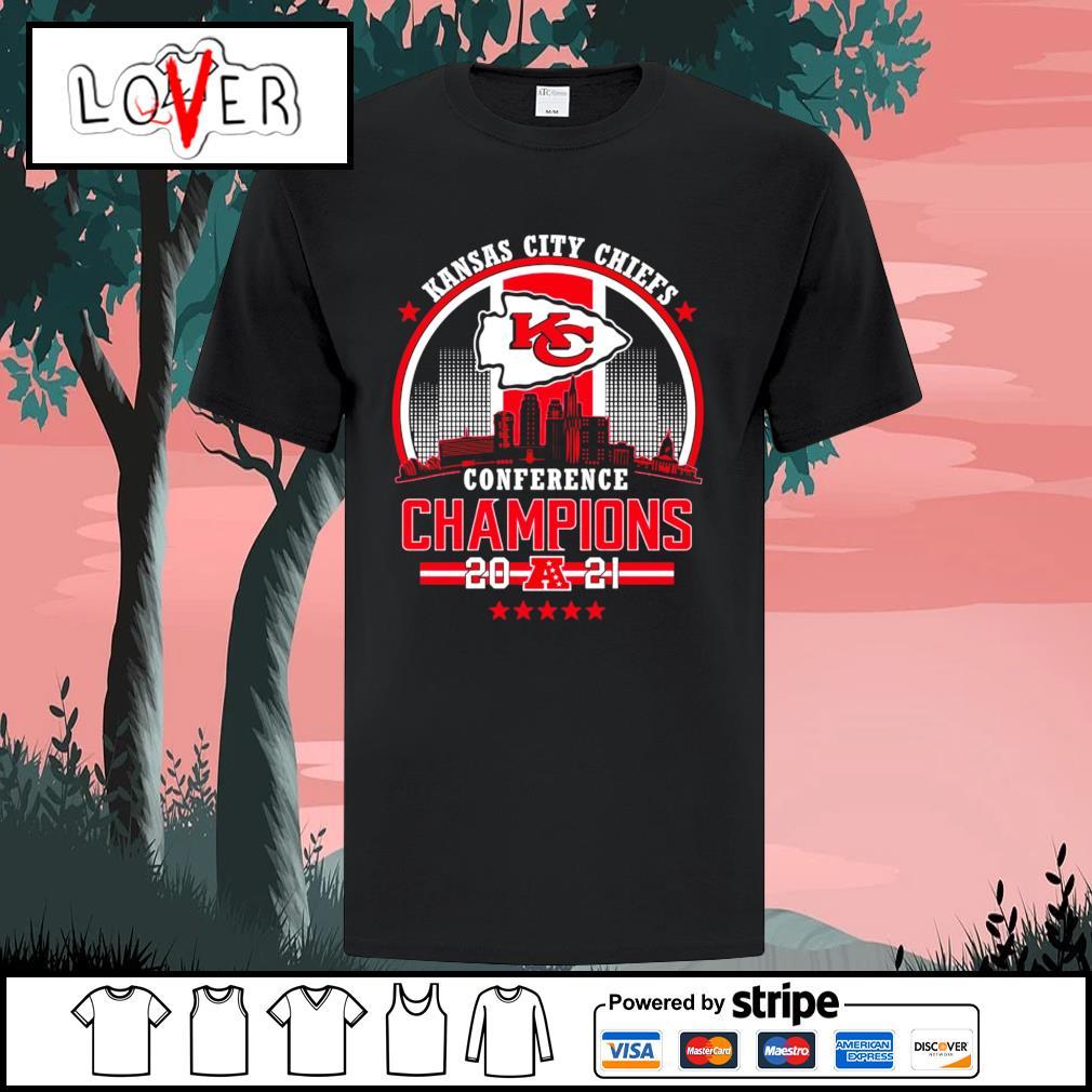 Kansas City Chiefs conference champions 2021 shirt