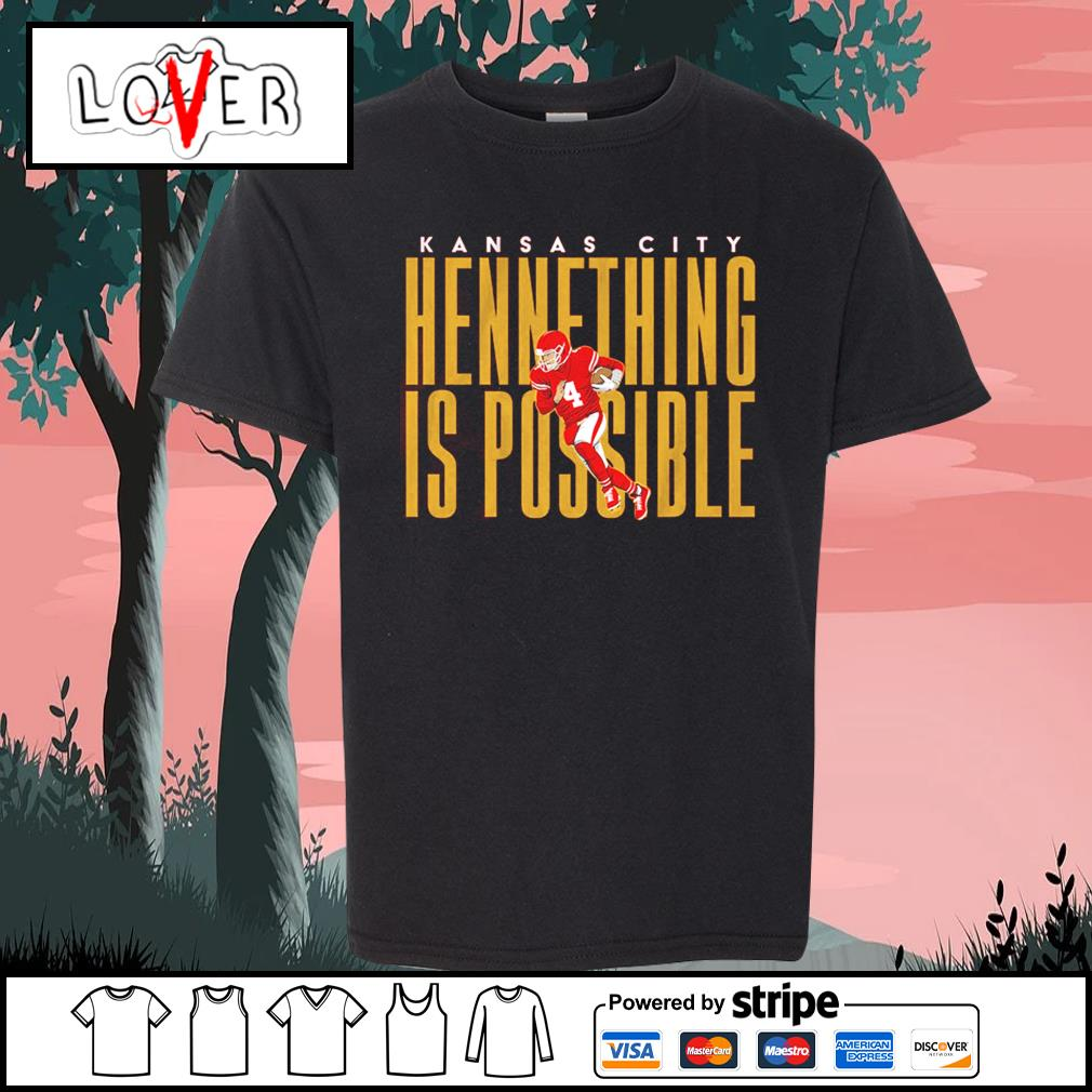 Kansas City Chiefs hennething is possible s Kid-T-shirt