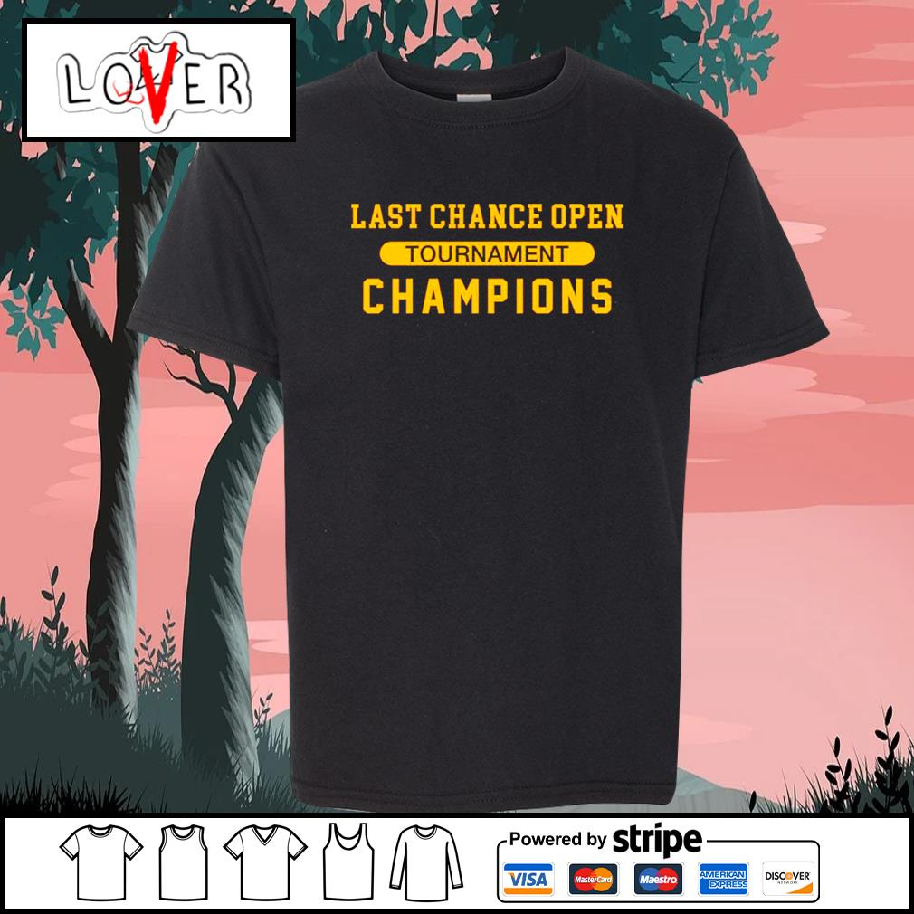Last chance open tournament champions s Kid-T-shirt