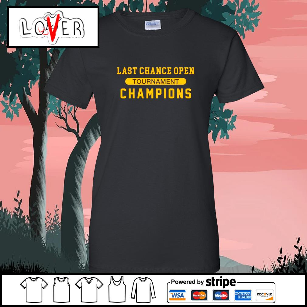 Last chance open tournament champions s Ladies-Tee
