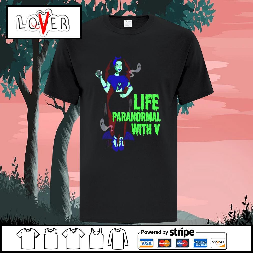 Life paranormal with V shirt