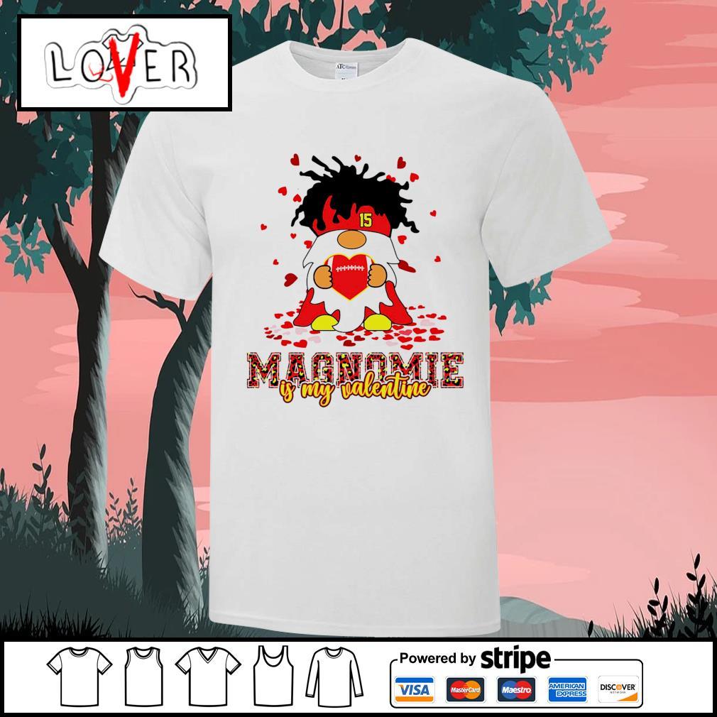 Magnomie is my valentine Patrick Mahomes Kansas City Chiefs shirt