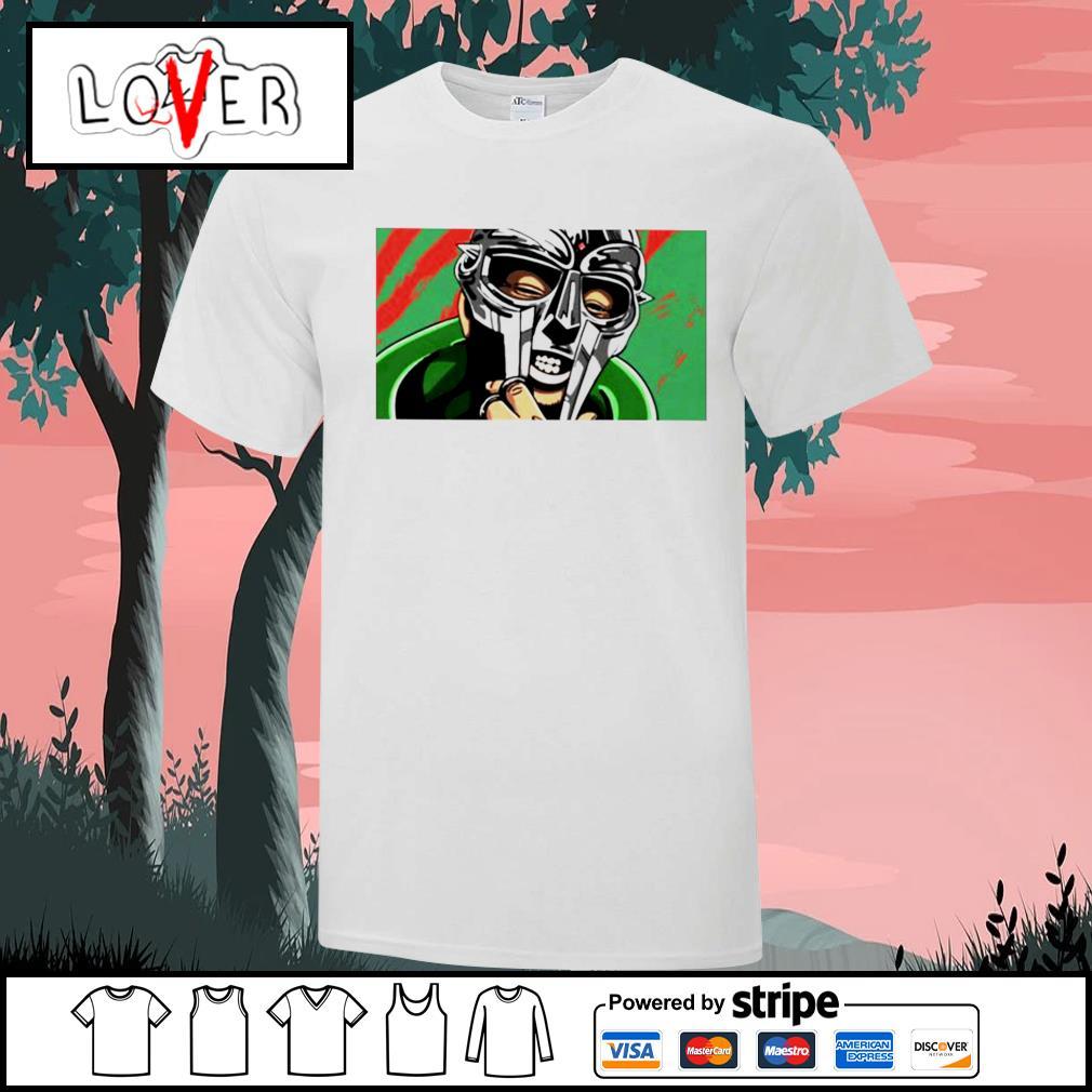 Mf Doom face shirt