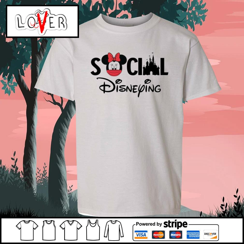 Minnie Mouse social Disneying s Kid-T-shirt