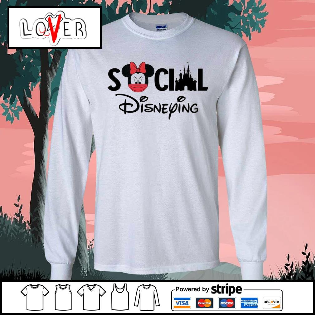 Minnie Mouse social Disneying s Long-Sleeves-Tee