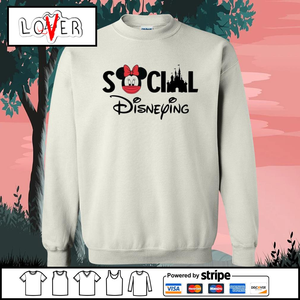 Minnie Mouse social Disneying s Sweater