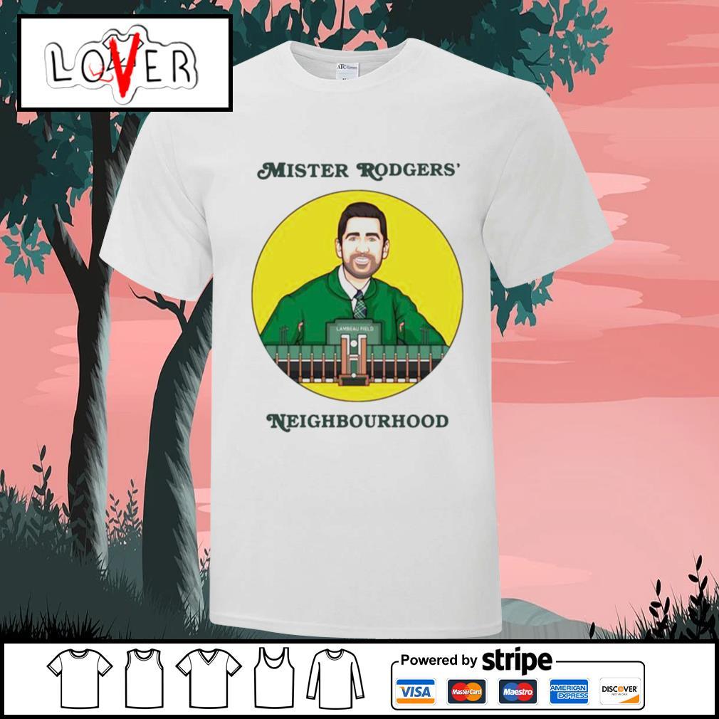 Mister Rodgers' neighbourhood shirt